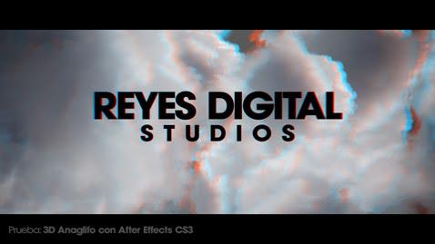 REYES Digital Studios   3D Anaglifo