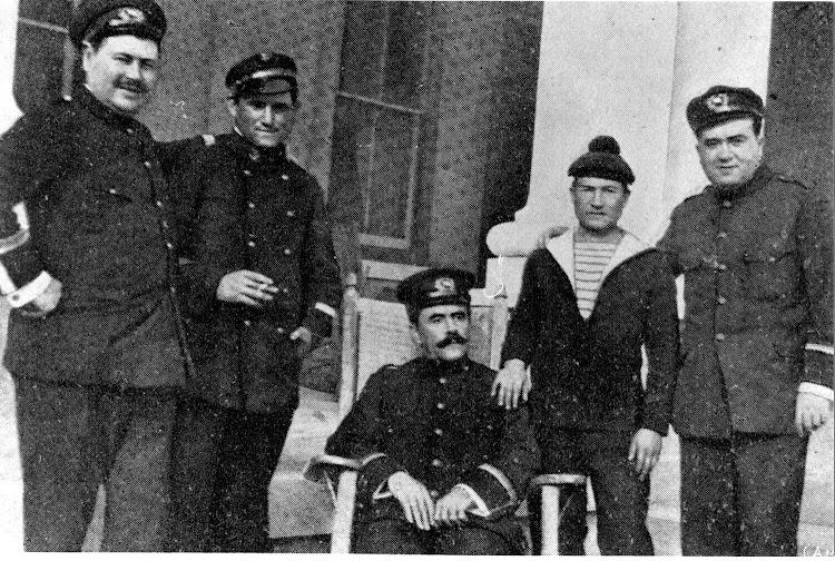 Manuel Morales Muñoz en el hotel St. George, Bermudas. 16 enero 1918. Tras el salvamento del SC171. Familia Bellido Femenia.jpeg