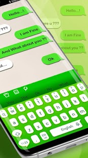 Keyboard Theme For Line Message - náhled