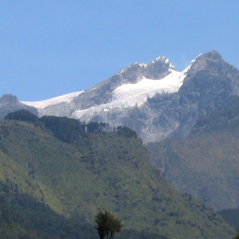 Rwenzori Mountains in the West