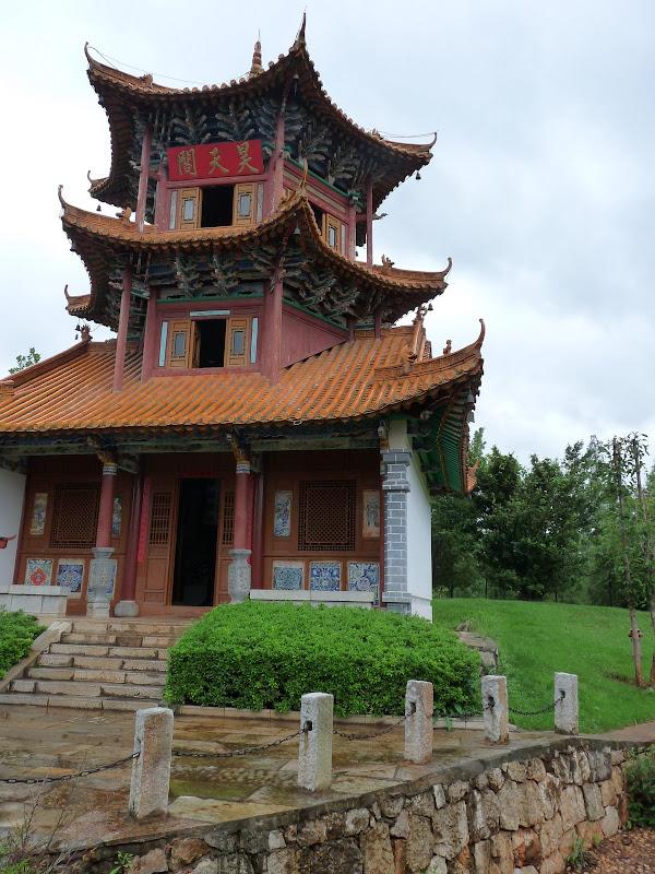 CHINE.YUNNAN.KUN MING Village des minorités 2 - P1270578.JPG