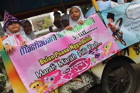Sambut Ramadhan, SDIT Thariq Bin Ziyad Pondok Hijau Bekasi Lakukan Tarhib Ramadhan