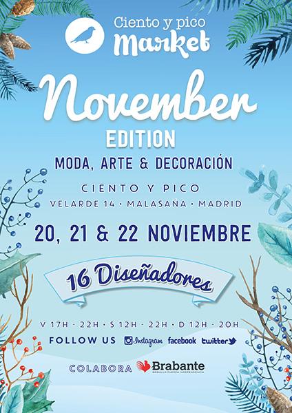Ciento y pico Market November Edition