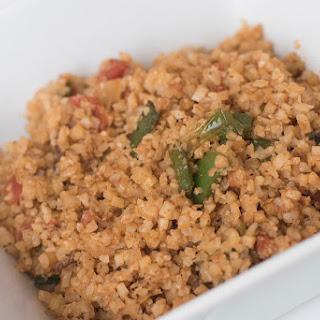 Cauliflower Dirty Rice (low-carb, keto).