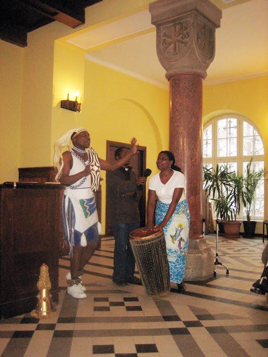 Emmanuel i Cecylia z Ruandy