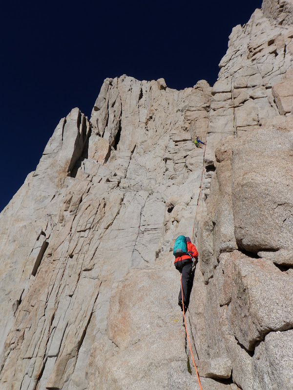Mount Whitney • East Face, Pitch 1