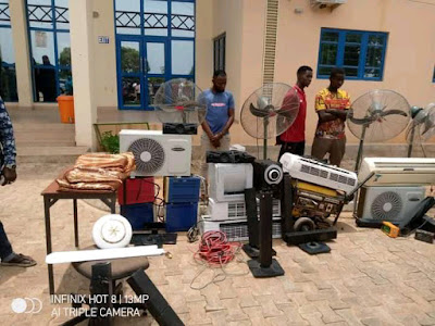 Federal Polytechnic Bida criminal caught