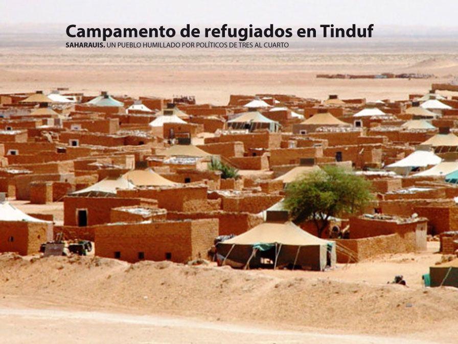 Resultado de imagen para campamentos saharauis