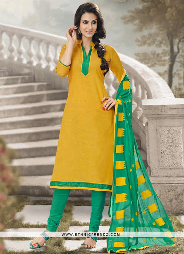 fashionable-lace-work-yellow-cotton-churidar-designer-suit-4773-800x1100.jpg