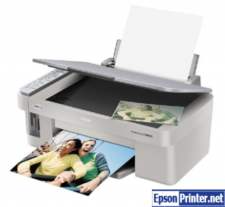 How to reset Epson CX4600 printer