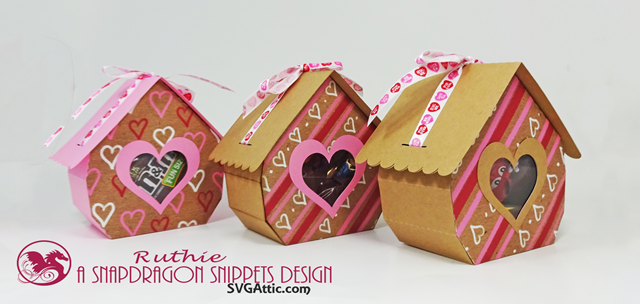 Cottage ribbon-tied 3d gift box - SnapDragon Snippets, San Valentin. Ruthie Lopez.4