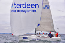 J/109 Aberdeen Asset Management- sailing Cowes Race Week