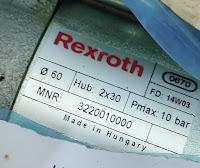 For sale cylinder Rexroth MNR: 3220010000 0670 FD: 14W03 Ø60 Hub: 2x30 Pmax: 10 bar email :idealdieselsn@hotmail.com/ idealdieselsn@gmail.com