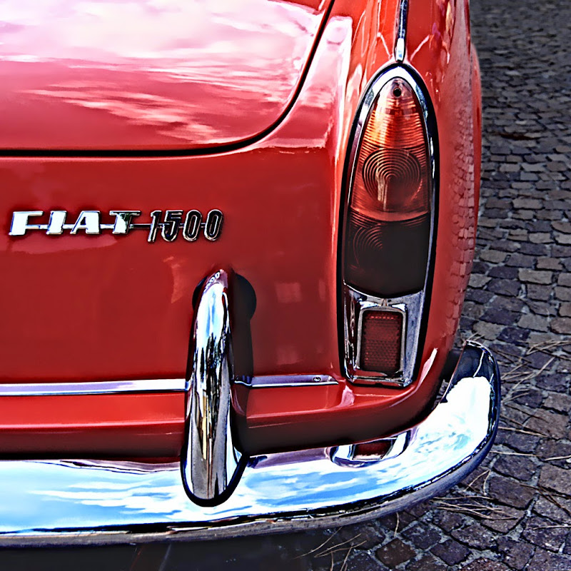 OT - Fiat 1500 Spider - Dettaglio