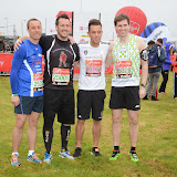 OIC - ENTSIMAGES.COM - Lee Hendrie at the Virgin London Marathon 2015 in London 26th April 2015  Photo Mobis Photos/OIC 0203 174 1069