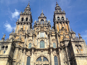 Cathedral at Santiago de Compostela, Spain