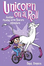 Unicorn on a Roll by Dana Simpson
