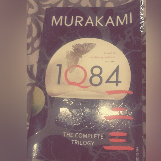 (Review) 1Q84 (buku 1) by Haruki Murakami