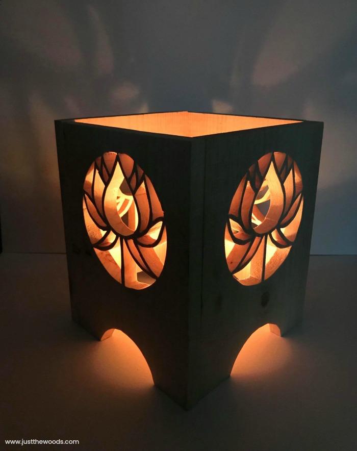 scroll saw lantern
