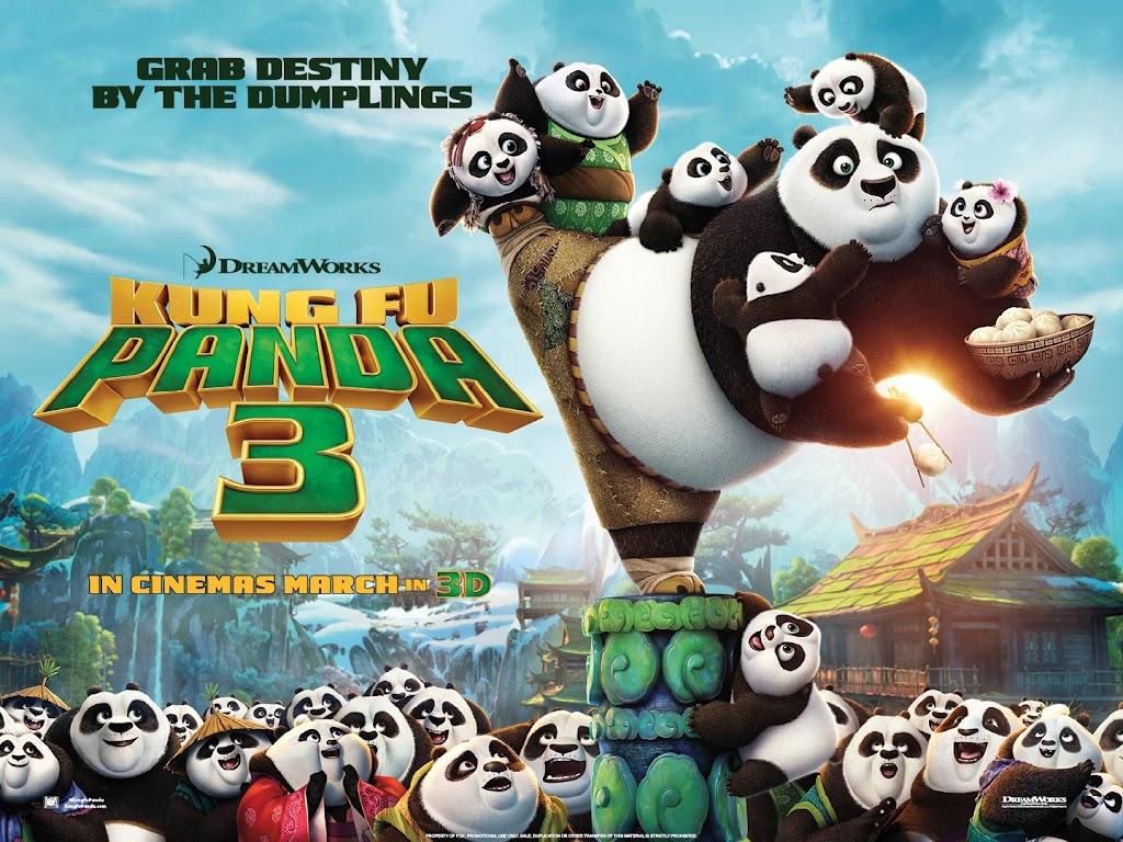 Κουνγκ Φου Πάντα 3 (Kung Fu Panda 3) Wallpaper