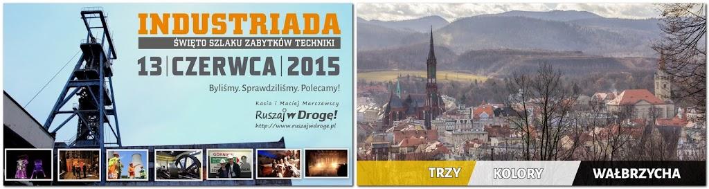 Akcja promocyjna Industriady i Wałbrzycha