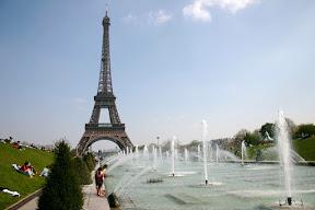 The Eiffel Tower, from Palais de Chaillot