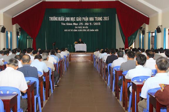 Thường huấn Linh mục đoàn Giáo phận Nha Trang năm 2015
