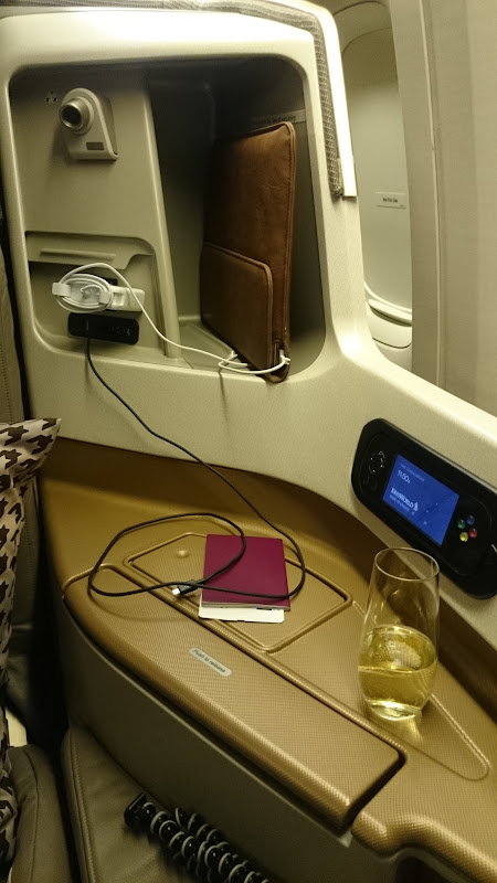 LHR SIN 16 - REVIEW - Singapore Airlines : Business Class - London to Singapore (B77WN)