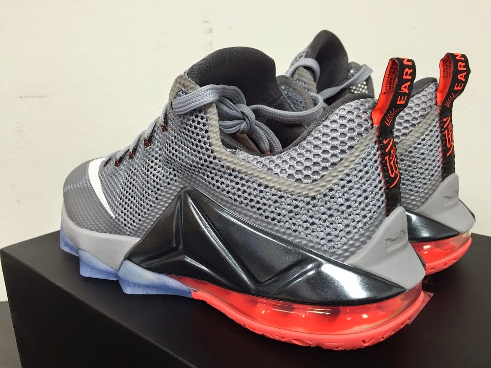 huge selection of 19076 4c3ee Detailed Look at Upcoming Nike LeBron 12 Low 8220Hot Lava8221 ...