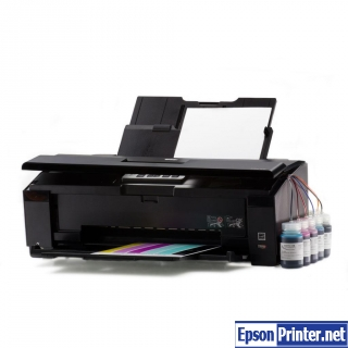 How to reset Epson Artisan 1430 with program