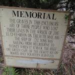 Information sign at graveyard (107497)