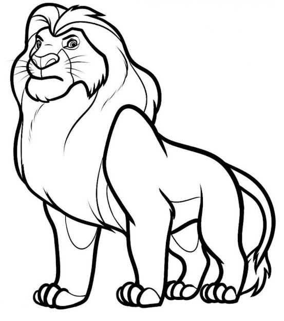 Circus Coloring Page