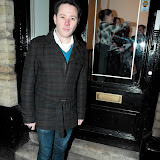 WWW.ENTSIMAGES.COM - Reece Shearsmith   at    HOT VALVE LEAK: Visual Ramblings of Vic Reeves - private view at The Strand Gallery  London February 12th 2013                                                   Photo Mobis Photos/OIC 0203 174 1069