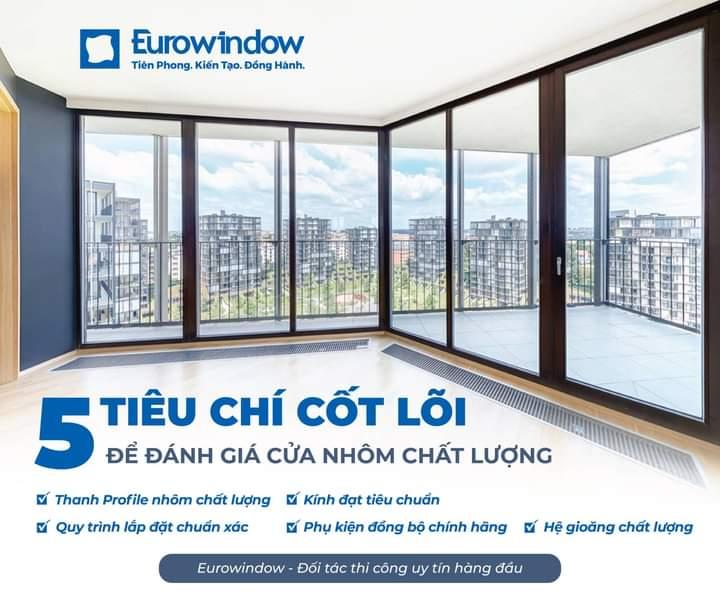 cửa nhôm Eurowindow