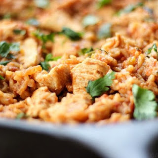 Skillet Chicken Mexican Rice.
