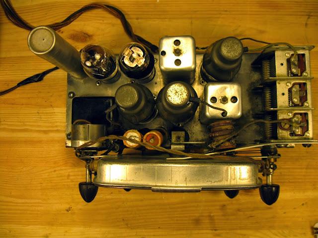 1937 Detrola 139E Vintage Radio Repair   Rain City Audio