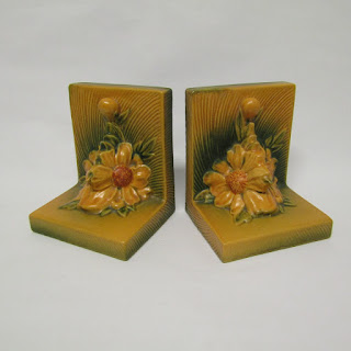 Roseville Pottery Bookends