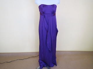 Carolina Herrera Purple Gown