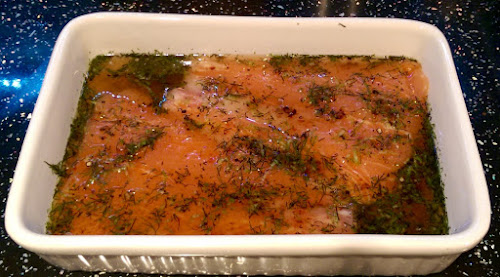 Gin Cured Salmon, Home cured salmon, Darnley's View Spiced Gin, Easy recipe, home cooking, Lidl, Gin,