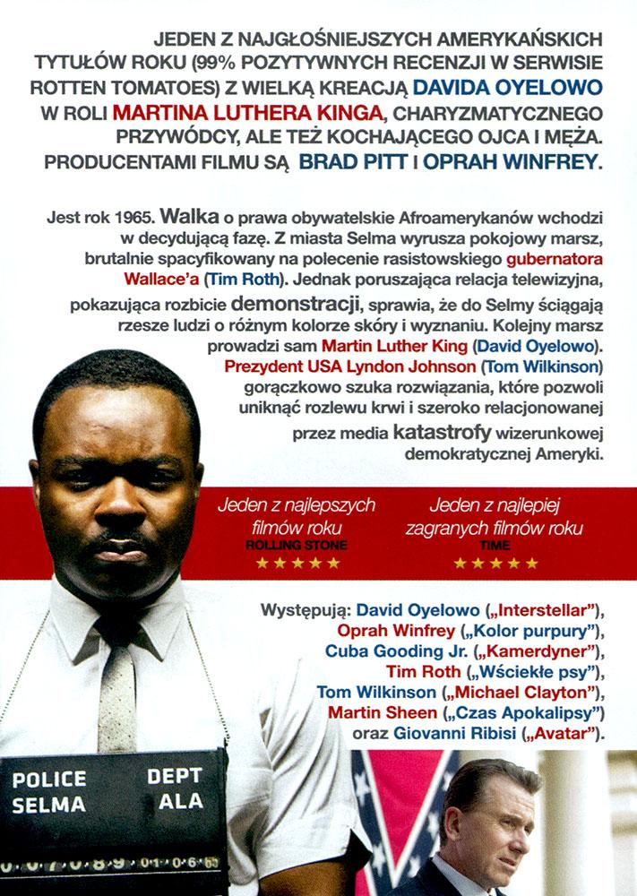 Ulotka filmu 'Selma (tył)'