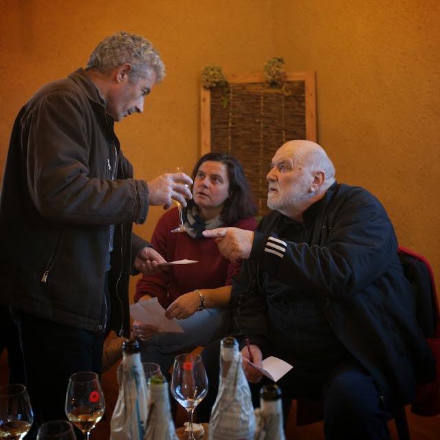 Thierry Lafarge avec Sophie et Francis Arnaud