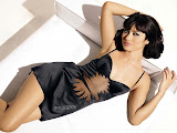 Olga Kurylenko Underwear merchandise display