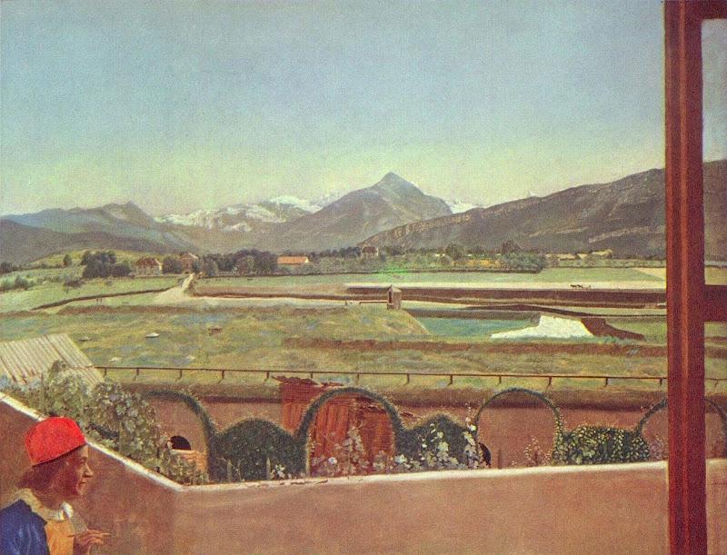 Jean-Etienne Liotard - Landscape at Geneva