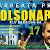 Carreata pró Bolsonaro será dia 27 de outubro em Ruy Barbosa