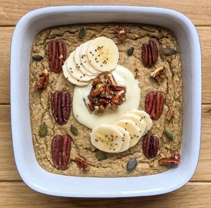 Maple Pecan Baked Oats Recipe   Breakfast Care