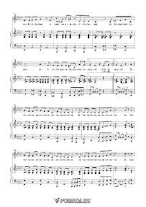 """Песня """"Прадедушка"""". Музыка А. Ермолова: ноты"""