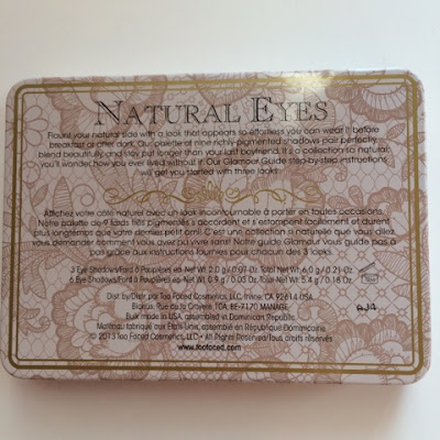Palette Natural eye Too Faced