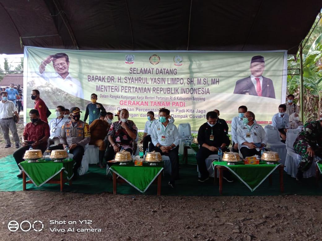 Soppeng Termasuk Kabupaten yang Mampu Menjadi Barometer Pertanian Indonesia Ungkap PJS Bupati Soppeng