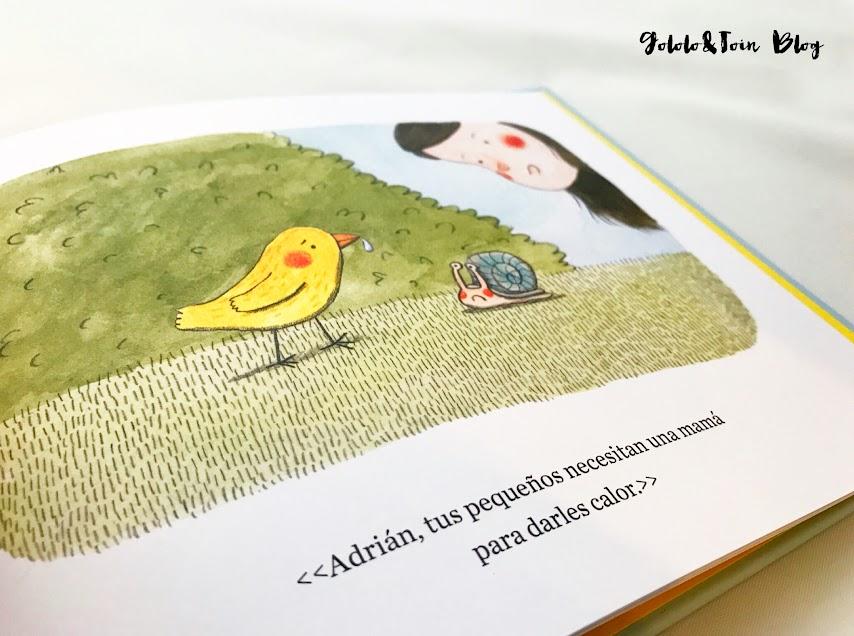 ilustraciones cuento Lucía y sus amigos