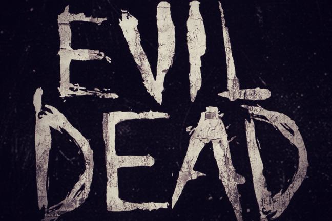 evil dead, evil dead remake, new evil dead logo, reboot evil dead, evil dead shirt